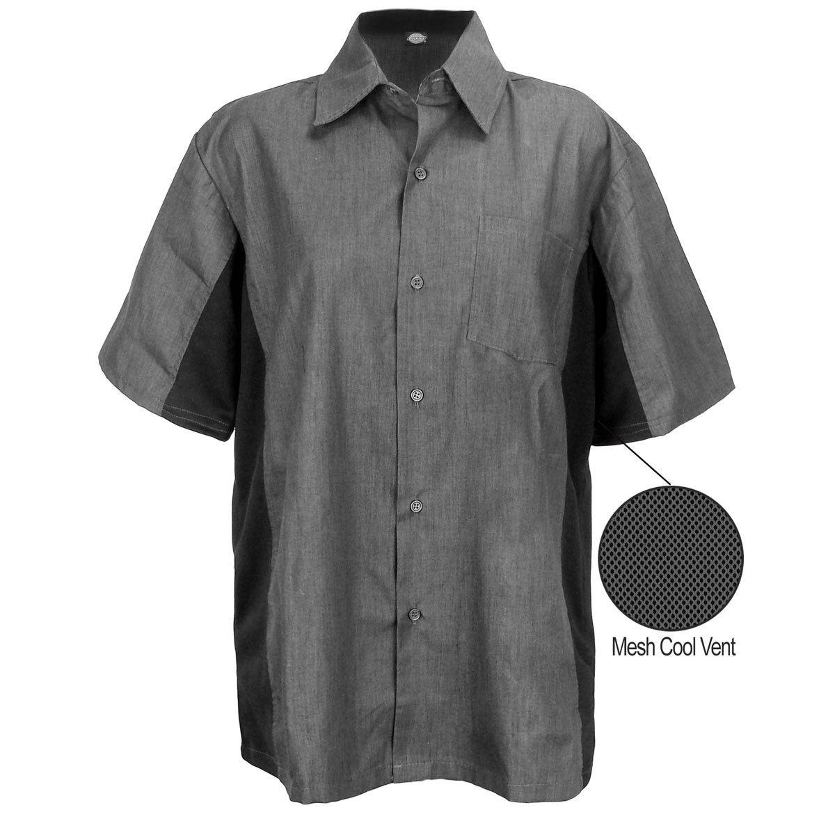 White apron brea ca - Dickies Cool Breeze Work Shirt Vent Panels On Sides