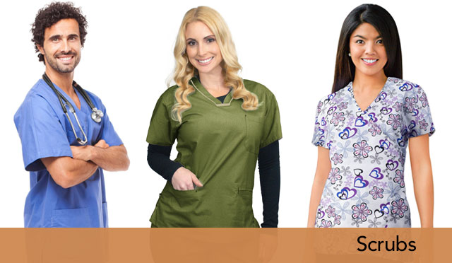Up to 20% Off Scrubs - For a limited time only