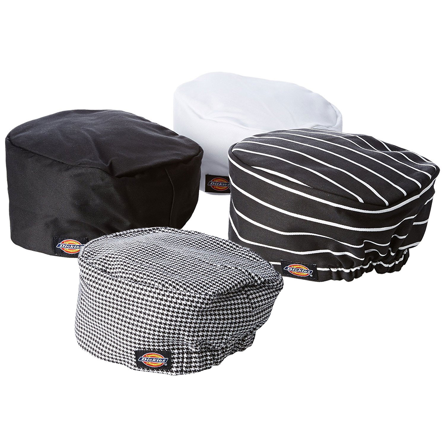 3 pack dickies chef hat traditional beanie unisex. Black Bedroom Furniture Sets. Home Design Ideas