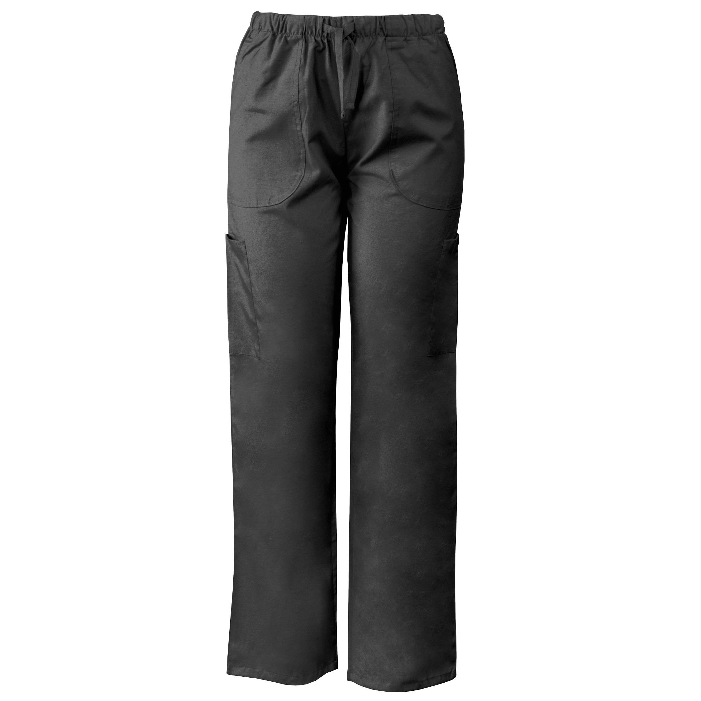 165cfe833ce Lightweight Scrubs Pants with Elastic & Drawstring Waistband, Cargo Pockets.  Display Gallery Item 1 ...
