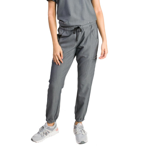 Medgear Women's Nara 8-Pocket Jogger Scrub Pants