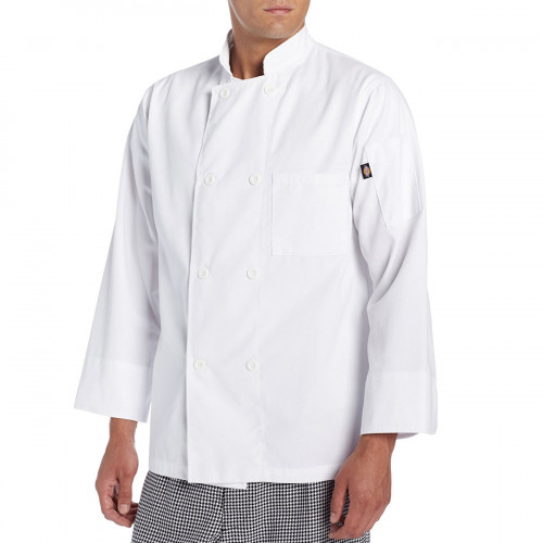 Dickies 8 Button Basic Chef Coat / Jacket