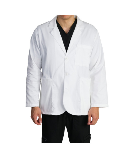 Medgear Unisex Multi Pocket Consultation Lab Coat