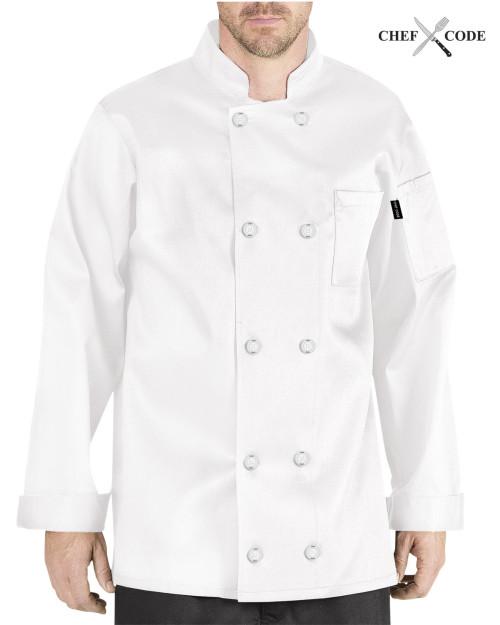 Chef Code Giovanni Chef Coat / Jacket - 100% Premium Cotton