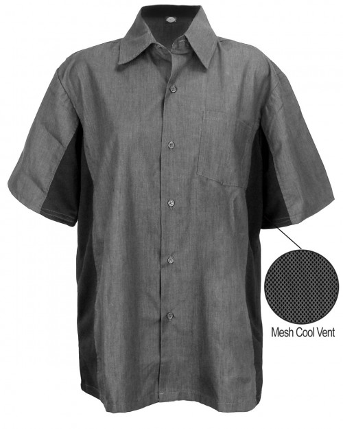Dickies Cool Breeze Work Shirt - Vent Panels on Sides