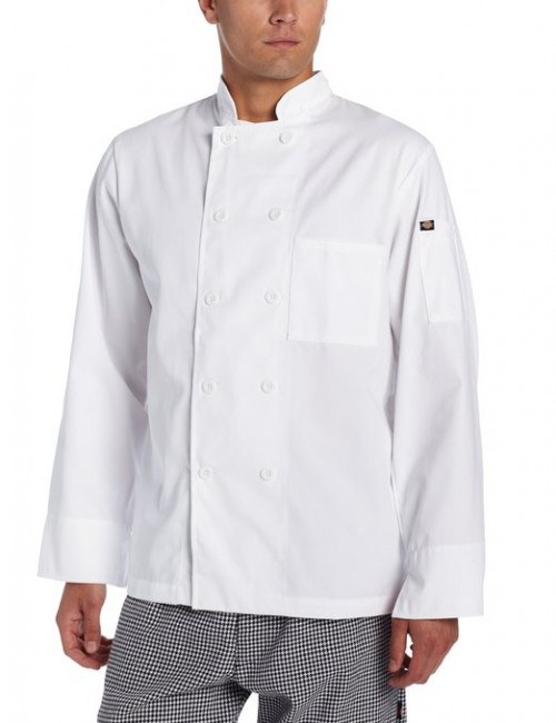 Dickies Paolo Classic Chef Coat - 10 Button Jacket