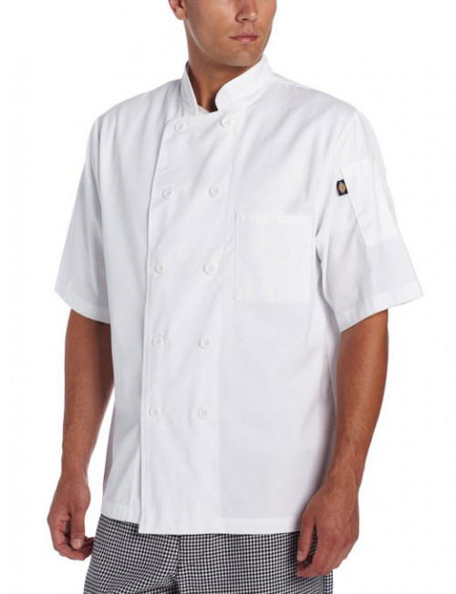 Dickies Donatello Short Sleeve Chef Coat / Jacket