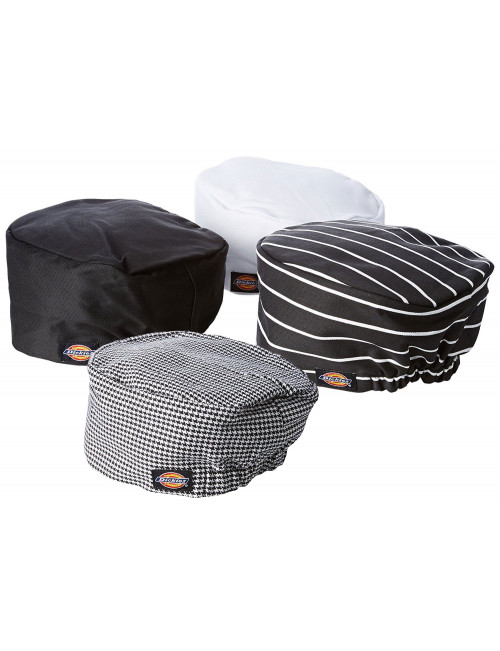 3-Pack Dickies Chef Hat Traditional Beanie Unisex