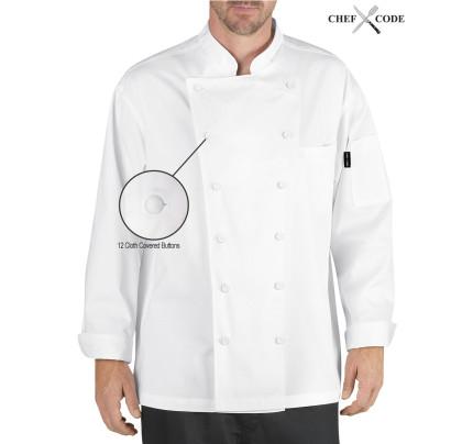 Chef Code Lorenzo Executive Chef Coat Unisex