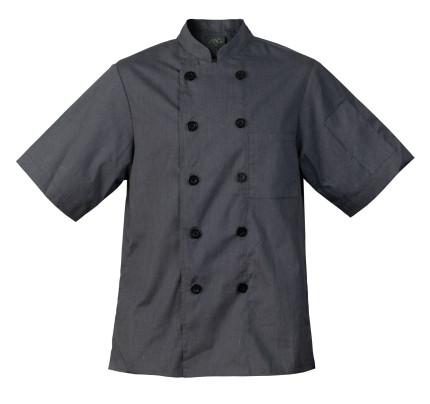 Chef Code Mens 8 Pearl Button Chef Coat