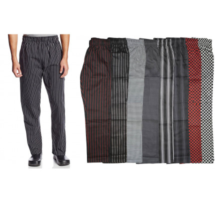 Dickies Chef Pant Men Women Unisex Baggy Cargo Chef Pants DC220 DC219 Black