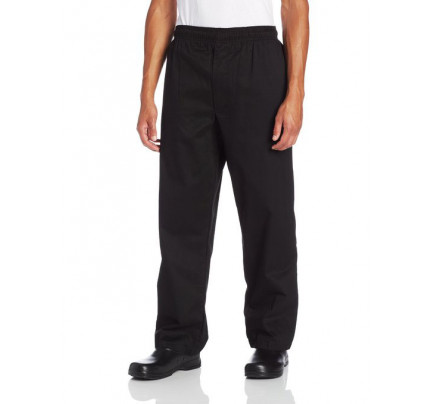Dickies Basic Baggy Chef Pants with Zipper Fly
